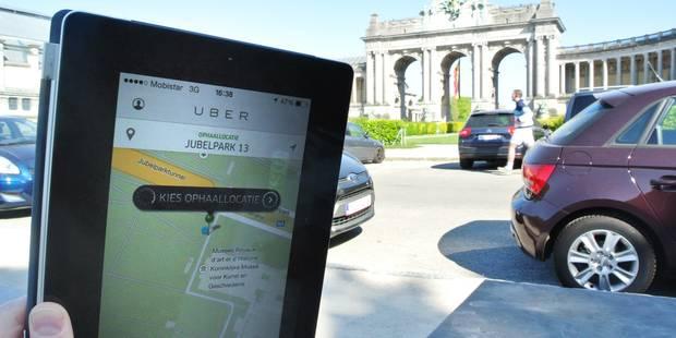 La justice bruxelloise perquisitionne les locaux du service Uber - La DH
