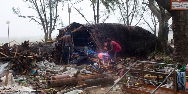Cyclone dévastateur au Vanuatu: l'état d'urgence décrété - La DH