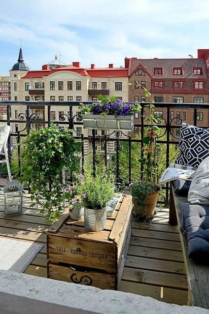 10 id es pour am nager sa terrasse en ville la dh for Amenager une terrasse en ville