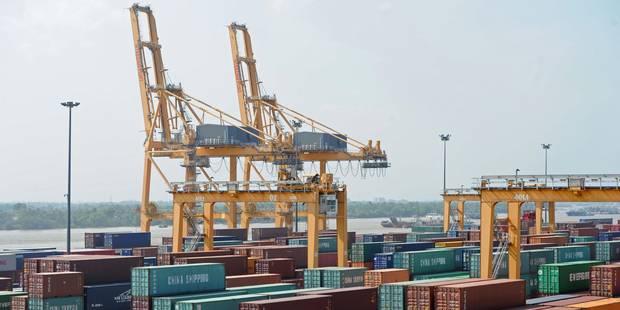 Les exportations belges à la traîne au niveau mondial - La DH