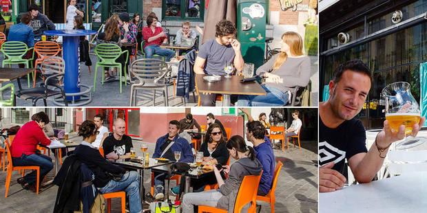 Voici les dix terrasses qu'il vous faut découvrir à Bruxelles - La DH