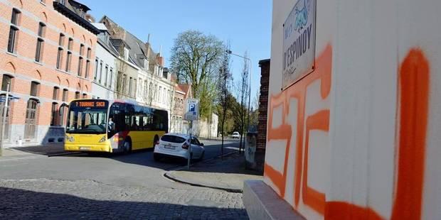 Trois voleurs et six tagueurs interpellés à Tournai - La DH