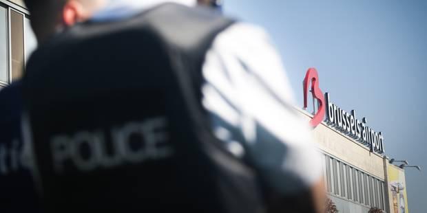 Les agents de police poursuivent leur grève du zèle à Brussels Airport - La DH