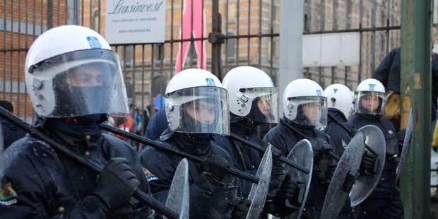 La manifestation des policiers prévue le 24 avril est annulée... à cause de la menace terroriste - La DH