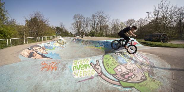 Skatepark géant à Cointe - La DH