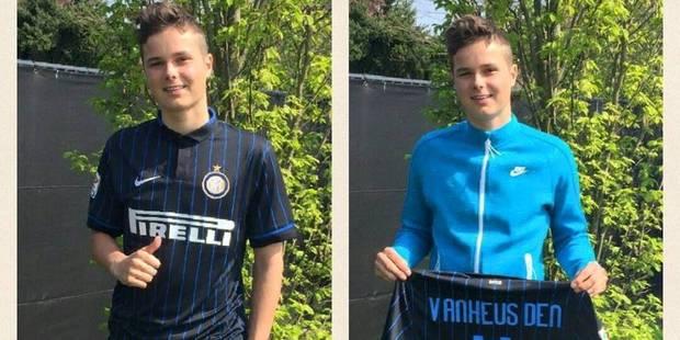 Standard : Zinho Vanheusden quitte l'Académie pour l'Inter Milan ! - La DH