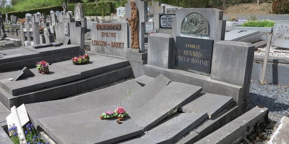 Carnage au cimetière de Trois-Ponts - La DH