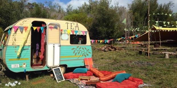 """Camping """"baba cool"""" en caravanes vintage - La DH"""