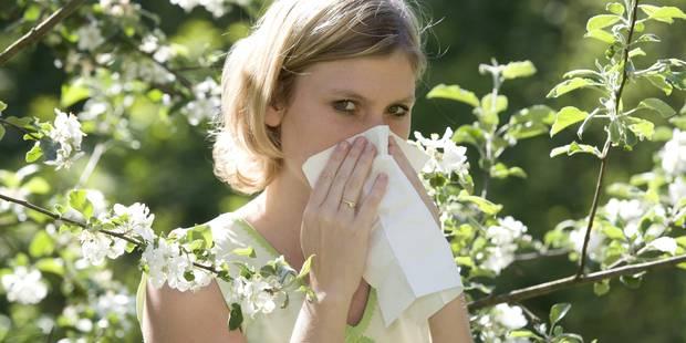 Sortez les mouchoirs, le pic de pollen est atteint - La DH