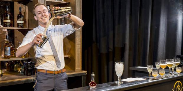 L'homme qui prépare les meilleurs cocktails de Belgique, c'est lui ! - La DH