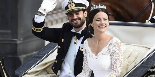 Suède: le prince Carl Philip épouse Sofia, ex-starlette de la téléréalité (PHOTOS) - La DH