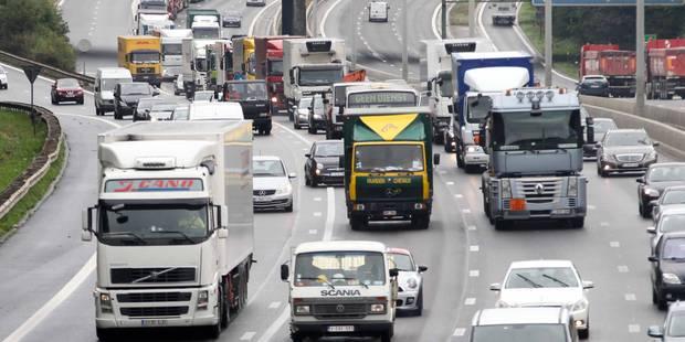 Bruxelles: chaos à prévoir ce jeudi, voici le parcours de la manifestation des camions - La DH