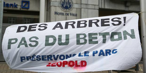 Sauvegarde du parc Léopold : projet renouvelé - La DH