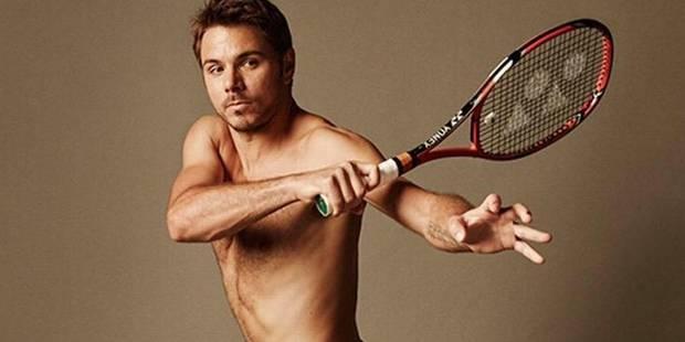 Stanislas Wawrinka pose complètement nu ! - La DH
