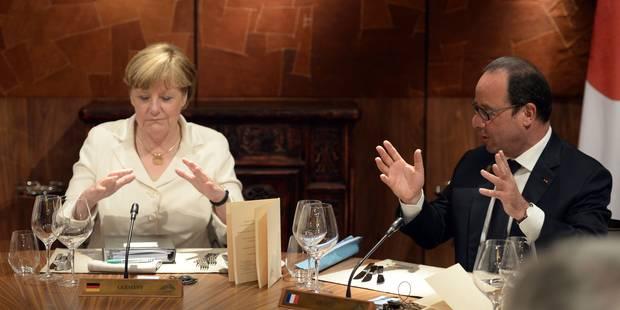 Grèce: le couple franco-allemand victime du référendum - La DH
