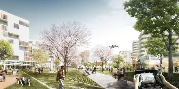 Voici à quoi ressemblera la future cité des médias à Bruxelles - La DH