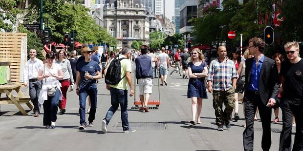 Piétonnier à Bruxelles: l'horeca se frotte les mains - La DH