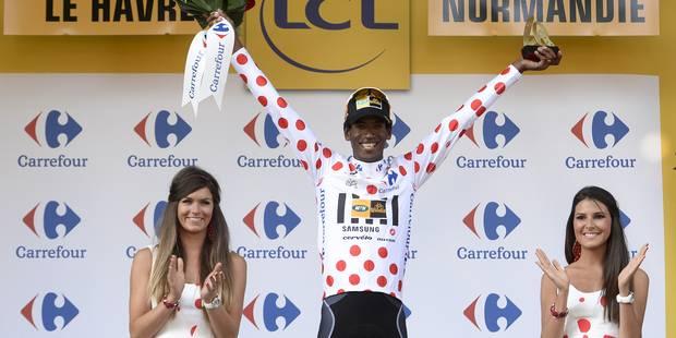 Tour de France: Daniel Teklehaimanot premier Africain à porter le maillot à pois - La DH
