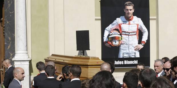 De nombreux pilotes de Formule 1 aux obsèques de Jules Bianchi - La DH