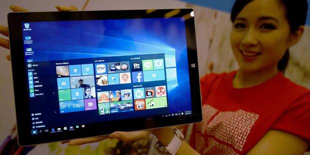 """Le déploiement de Windows 10 """"fonctionne très bien"""" - La DH"""