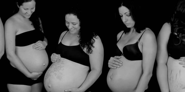 Photos : sept femmes enceintes se dévoilent et partagent leurs expériences - La DH
