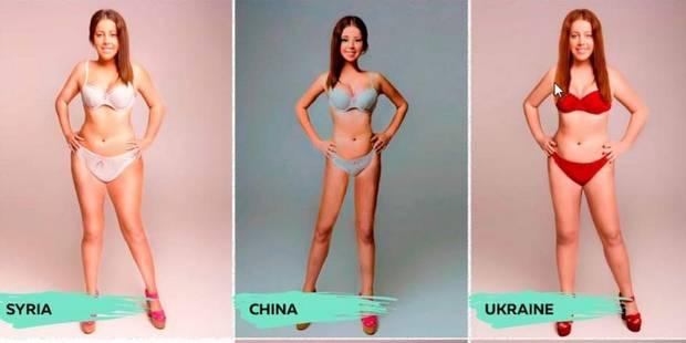 Quel est le corps féminin idéal? Tour du monde en photos - La DH