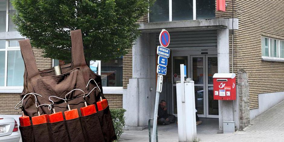 Une inquiétante première: braquage à la ceinture d'explosifs à Bruxelles - La DH