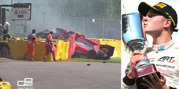 GP2 à Spa-Francorchamps: Vandoorne remporte à domicile une course marquée par un violent crash (VIDEO) - La DH