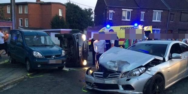 police locale de charleroi pv accident dlit de fuite. Black Bedroom Furniture Sets. Home Design Ideas
