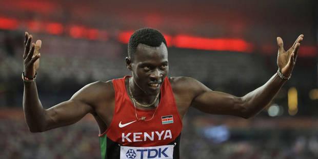 Mondiaux: Nicholas Bett champion du monde du 400m - La DH