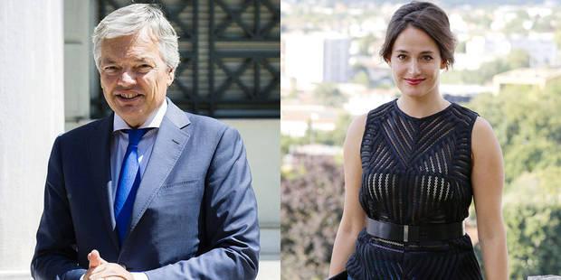 Exclusif: Didier Reynders et Marie Gillain, premiers invités de Deborsu - La DH