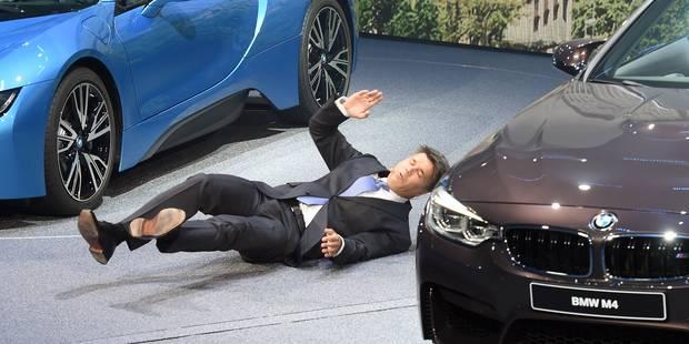 Le patron de BMW s'effondre lors d'une conférence de presse (VIDÉO) - La DH