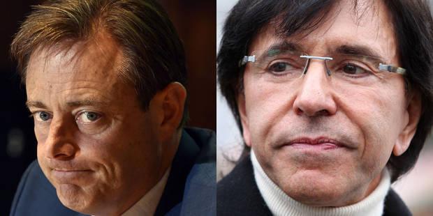 Baromètre politique: De Wever et Di Rupo, deux étoiles pâlissantes - La DH