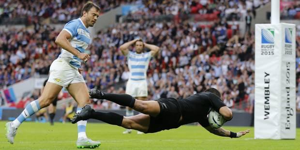 Mondial de rugby: Les Blacks se font peur face à l'Argentine, Le Pays de Galles répond présent face à l'Uruguay - La DH
