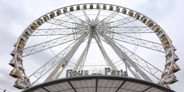 La grande roue de Paris a été inaugurée à Bruxelles - La DH