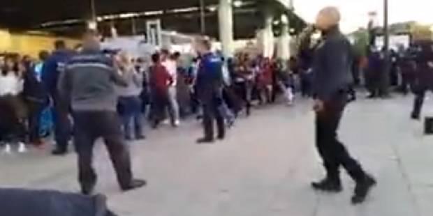 Le Kinepolis de Bruxelles évacué: troubles et vitres brisées, deux jeunes filles blessées (VIDEO) - La DH
