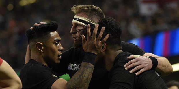 Mondial de rugby: les All Blacks ne font pas dans la dentelle contre la Géorgie (43-10) - La DH