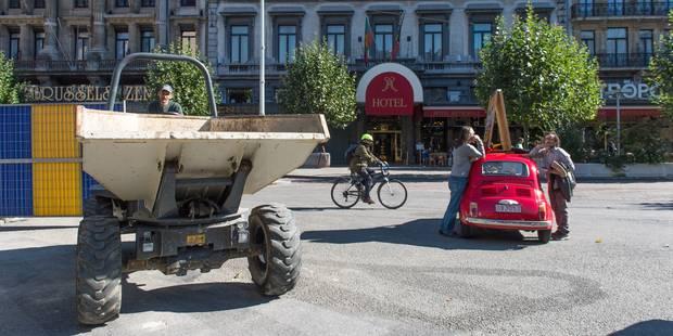 Piétonnier : la Ville de Bruxelles examine les demandes des commerçants du boulevard Adolphe Max - La DH