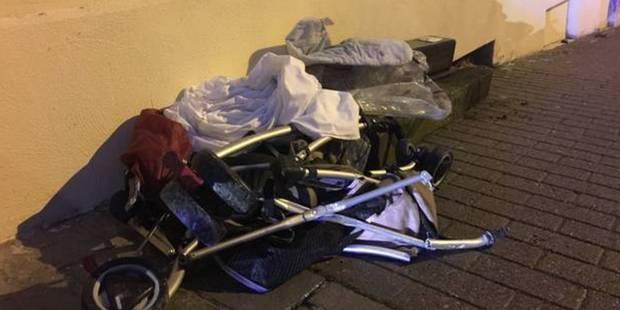 Le chauffeur qui a fauché un bébé à Etterbeek pas mis à la disposition de la justice - La DH