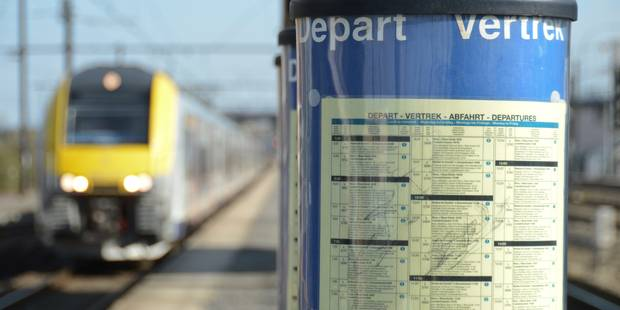 Grève sur le rail: prenez vos dispositions lundi et mardi prochains - La DH