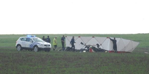 Accident d'ULM à Hannut: un mort - La DH