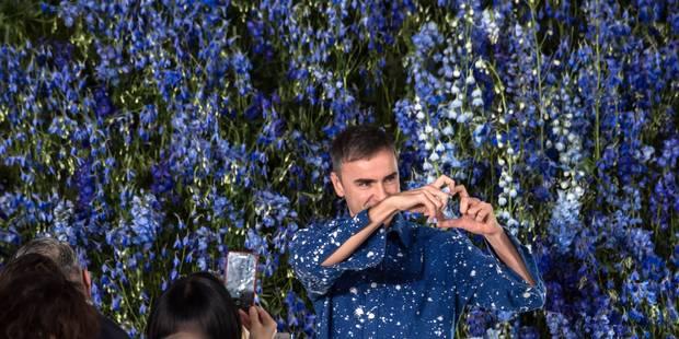 Dior : un marathon de collections pour Raf Simons - La DH