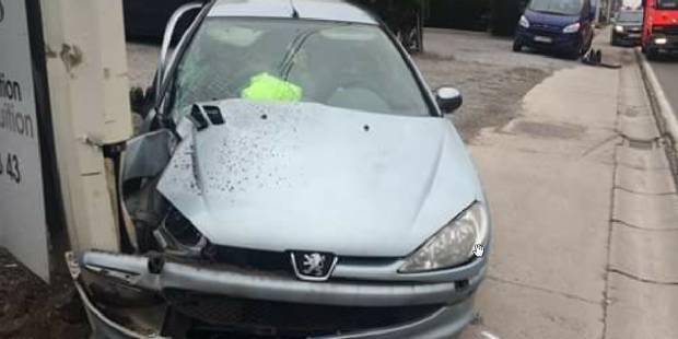 Cinq blessés légers dans une collision à Gerpinnes - La DH