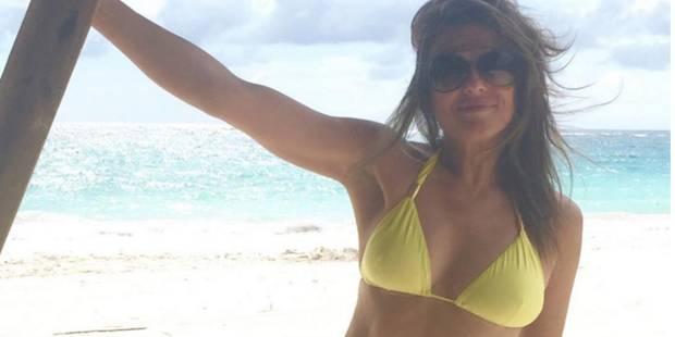 A 50 ans, Elizabeth Hurley affole la toile en bikini (PHOTOS) - La DH
