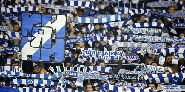 """Dynamo Kiev : le responsable du stade propose une """"tribune séparée"""" pour les supporters de peau noire - La DH"""