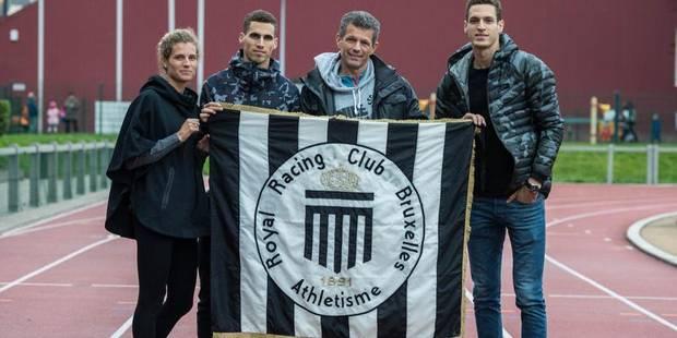Officiel: les Borlée au Racing Club Bruxelles (PHOTOS) - La DH