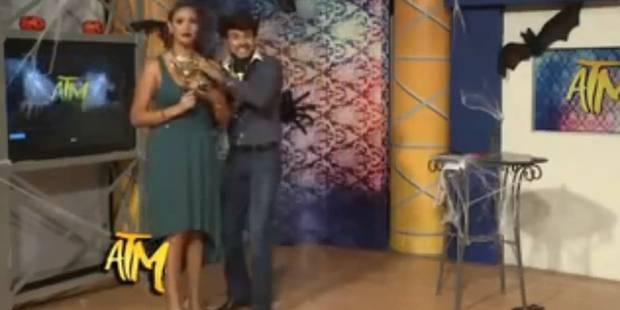Une présentatrice mexicaine licenciée après avoir été touchée à la poitrine en plein direct (VIDÉO) - La DH