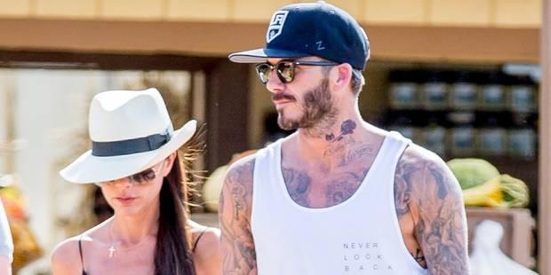 David Beckham dévoile son nouveau tatouage en hommage à ses enfants - La DH