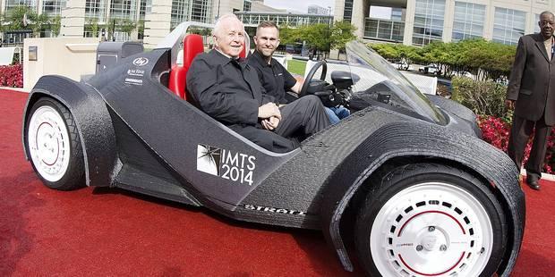 Une auto imprimée en 3D bientôt sur nos routes? - La DH
