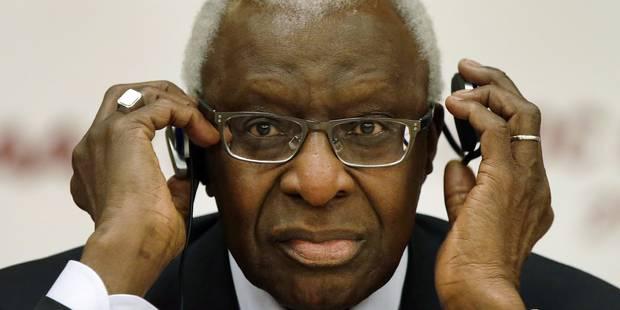 Lamine Diack a démissionné du Comité international olympique - La DH